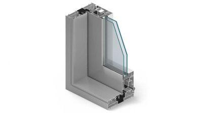 Tarasowe aluminiowe drzwi przesuwne HST AL-TECH MB-77 HS