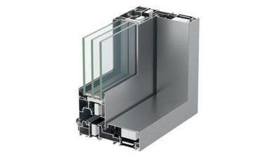 Aluminiowe tarasowe drzwi przesuwne HST Aluhaus Slide jednoszynowe