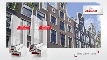 Blockprofile NL 85 mm - nowa gama systemów holenderskich Aluplast