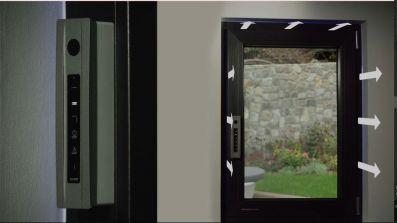 Aluminiowe okno antywłamaniowe Amberline AmberSafe Alu
