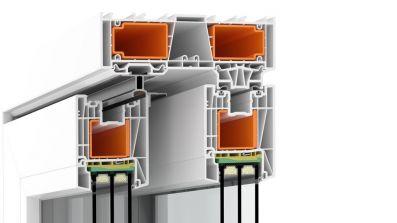 Tarasowe drzwi unoszono-przesuwne Avante HST EvolutionDrive