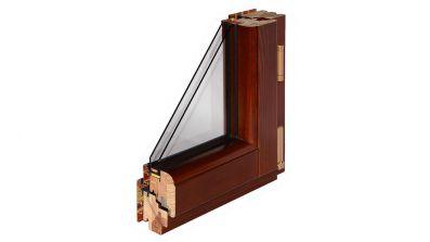 Okno drewniano-aluminiowe Bertrand ALUTREND CLASSIC
