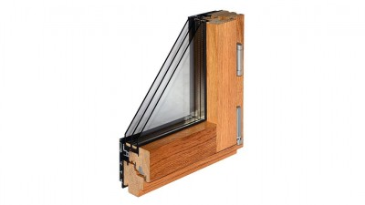 Okno drewniano-aluminiowe Bertrand ALUTREND INTEGRAL