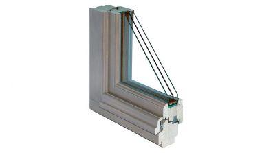 Okno drewniane Bertrand SOFTLINE w wersji Retro
