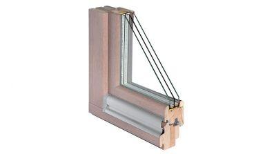 Okno drewniane Bertrand SOFTLINE w wersji Elegant