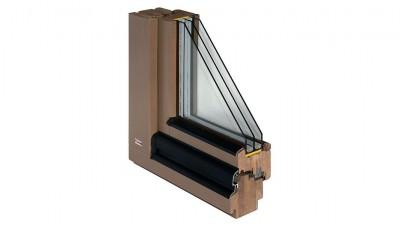Okno drewniane Bertrand STRONGLINE w wersji Master