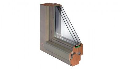 Okno drewniane Bertrand STRONGLINE w wersji Retro