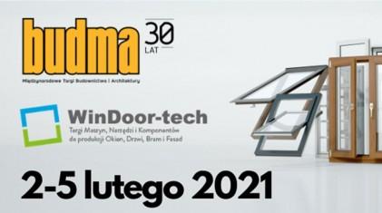 Światowe premiery na polskim rynku - targi WinDoor-tech i BUDMA już w lutym w Poznaniu