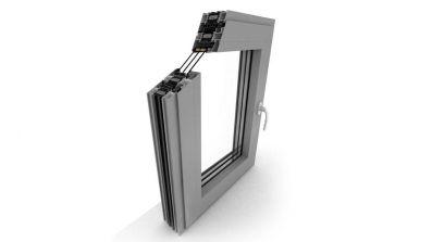 Okno aluminiowe Dako DA-90 Thermo
