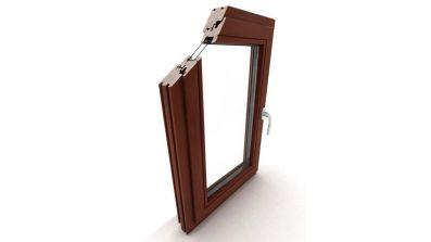 Okno drewniane Dako DDF-68