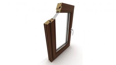 Okno drewniane Dako DDF-78