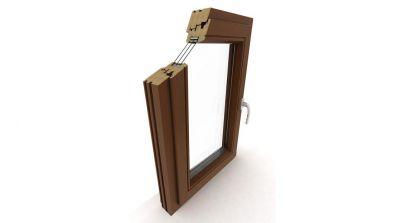Okno drewniane Dako DDF-92