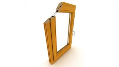 Okno drewniane Dako DDR-68