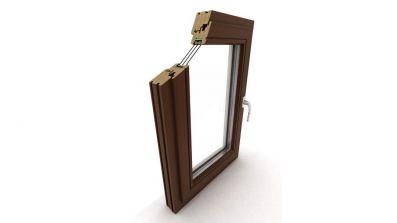 Okno drewniane Dako DDR-78