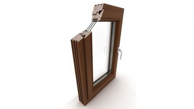Okno drewniane Dako DDR-92
