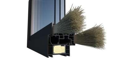 Technologia ThermoFibra od Deceuninck zapewnia wyjątkową stabilność okna i maksymalne wartości izolacji termicznej