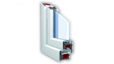 Delta Greenline Kömmerling 70mm 5K New okno PCV
