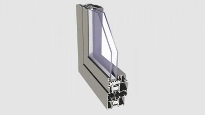 Okna aluminiowe Imperial i+ Dobroplast