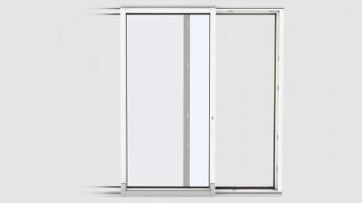 Drzwi uchylno-przesuwne PSK Dobroplast