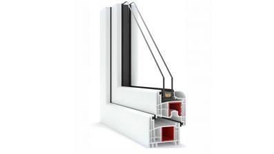 Standardowe okna PCV Domel Synergic