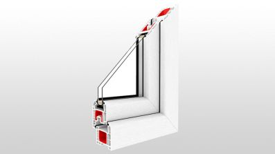 Okno Drutex iglo 5 Classic przekrój