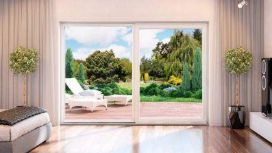 Sypialnia z drzwiami uchylno-przesuwnymi Drutex IGLO Energy PSK