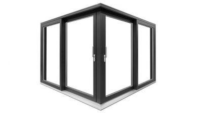 Narożne tarasowe drzwi unoszono-przesuwne Drutex IGLO HS