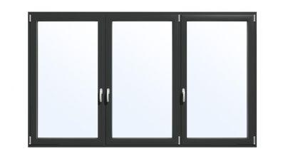 Okno aluminiowe Drutex MB-70 HI