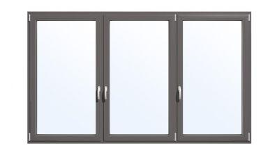 Okno aluminiowe Drutex MB-70