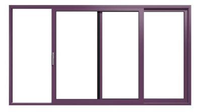 Aluminiowe drzwi tarasowe HST Drutex MB-77 HS