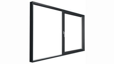 Aluminiowe drzwi unoszono-przesuwne Drutex MB-77 HS HI w pozycji otwartej