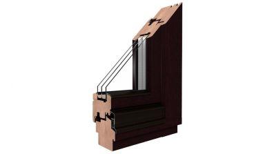Okna drewniane Drutex Softline