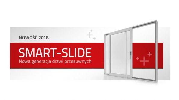 Drzwi Aluplast Smart-Slide - nowa kategoria produktowa w segmencie przesuwnych drzwi tarasowych