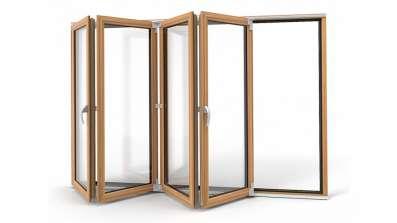Drzwi harmonijkowe Vetrex Patio Space