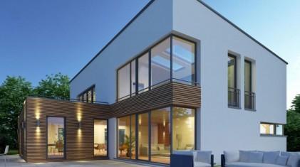 Duże przeszklenia - symbol nowoczesnego budownictwa