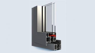 Aliplast Ecofutural okno aluminiowe Eko-Okna