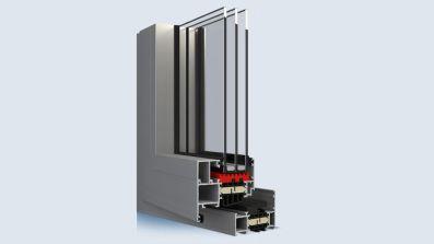 Aliplast Genesis 75 okno aluminiowe Eko-Okna