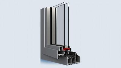 Aliplast Steel Look okno aluminiowe Eko-Okna