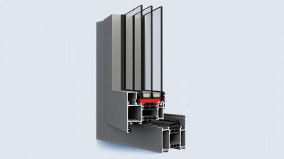 Aliplast Superial okno aluminiowe Eko-Okna