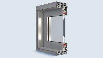 Aluminiowe, przesuwne drzwi tarasowe Eko-Okna MB-77 HS Aluprof
