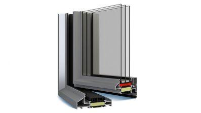 Decalu 110 Steel okno aluminiowe Eko-Okna