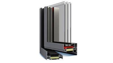 Decalu 88 Standard okno aluminiowe Eko-Okna