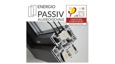 Elwiz Energio Passiv Aluskin okno PCV z nakładką aluminiową