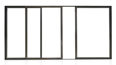 Eurocolor Alumore 78 HST - aluminiowe tarasowe drzwi przesuwne HST