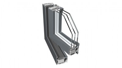 Okno aluminiowe Eurocolor Alumore 78
