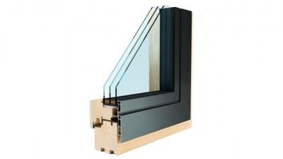 Okno drewniano-aluminiowe Fakro InnoView Modern