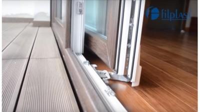 Filplast PSK - drzwi balkonowe uchylno-przesuwne PCV