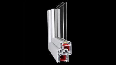 Grobud Active okno PCV Ideal 5000 Aluplast