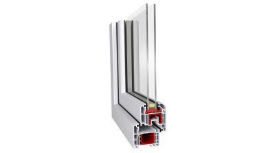 Grobud Comfort okno PCV Ideal 4000 Aluplast