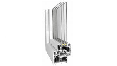 Grobud Energeto okno PCV Energeto 8000 Aluplast